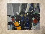 Картина холст, масло Абстракция. 40 х 50 см., фото №3