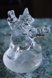 Клоун хрусталь французская компания Cristal d'Arques, фото №2