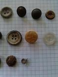 Пуговицы (разные), 20 шт, фото №5