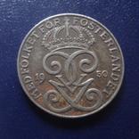 2  эре  1950  Швеция     (Г.12.28)~, фото №2