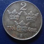 2  эре  1950  Швеция     (Г.12.28)~, фото №3