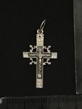 Крестик серебряный, фото №2