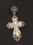 Крестик. Серебро 925, фото №3