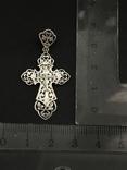 Крестик. Серебро 925, фото №2