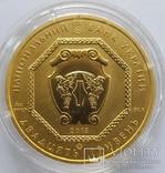 20 гривен Архистратиг Михаил золото 31,1 грамм 999,9', фото №2