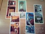 Ливадийский дворец, набор 14 откр, изд. РУ 1983, фото №6