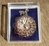 Крупный кулон, серебро, скань., фото №2