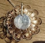 Крупный кулон, серебро, скань., фото №8