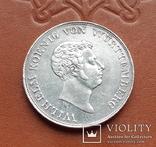 Талер 1833  Королівство Вюртемберг, фото №5