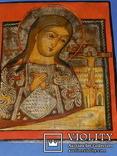 Ахтирская присвятая Богородица вис31см на 24.5 товщ 2см, фото №4