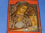 Ахтирская присвятая Богородица вис31см на 24.5 товщ 2см, фото №2