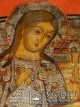 Ахтирская присвятая Богородица вис31см на 24.5 товщ 2см, фото №10