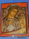 Ахтирская присвятая Богородица вис31см на 24.5 товщ 2см, фото №11