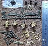 Накладки декоративні, латунь, фото №6
