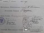 Документ Одесса 1902 год Женская гимназия Березиной аттестат подпись печать, фото №7