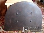 Старовинна 18-того століття чавунна пічна заслонка Демидівського металургійного заводу, фото №11