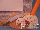 Плакетка кухонная настенная подарочная, записная книжка. Барельеф., фото №4