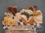 Плакетка кухонная настенная подарочная, записная книжка. Барельеф., фото №6