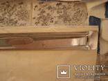 Плакетка кухонная настенная подарочная, записная книжка. Барельеф., фото №12