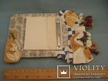 Плакетка кухонная настенная подарочная, записная книжка. Барельеф., фото №13
