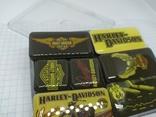 Комплект дизайнерских магнитов Harley Davidson. Байкер, фото №3