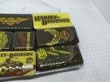 Комплект дизайнерских магнитов Harley Davidson. Байкер, фото №4
