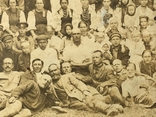 Групповое фото селян 20 хг, фото №7