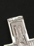 Крестик нательный серебряный, фото №6