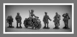 Игрушечные Солдатики Набор Немецкая Пехота WW2 Оловянные Cолдатики Миниатюры, фото №2