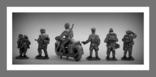 Игрушечные Солдатики Набор Немецкая Пехота WW2 Оловянные Cолдатики Миниатюры, фото №3