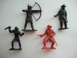 Пираты и индейцы 4 шт., фото №2