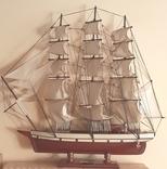 Корабль cutty sark 1869. Дарственная генерал-майору., фото №2