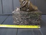 Бегемоты . Бронзовая статуэтка . Бронза . MILO, фото №8