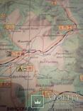 Закарпатье , туристская схема, изд, ГУГК СССР 1977г, фото №6