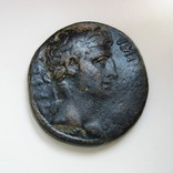 Октавиан Август, асс, Антиохия, АЕ (27 мм, 17,09 г), фото №2