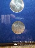 Ватикан 500 и 1000 лир (набор) 1983 - 1984 гг., фото №7