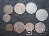 Монеты Болгарии 1962, 1974. ( 9 шт. )., фото №2