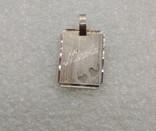 Кулон подвеска серебро 835 именная Nikole, фото №2