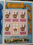 Британские колонии полная серия с надпечаткой MNH, фото №4