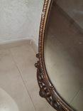 Старое большое зеркало. 131×80 см., фото №7