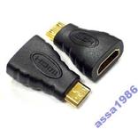 Перехідник Адаптер HDMI(F) папа Mini HDMI(M) мама, фото №2