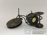"""Вінтажна гасова лампа """"Велосипед"""" арт. 0957, фото №6"""