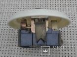 Винтажный выключатель в кладовку, на лестницу с  пневмозадержкой отключения. 250V, 2.5A., фото №5