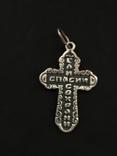 Крестик нательный серебряный, фото №4