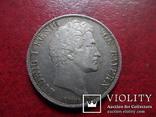 1 гульден  1839  Бавария  серебро    (А.1.27)~, фото №4