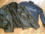 Куртка кожаная патрульная + свитер, фото №3