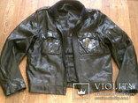 Куртка кожаная патрульная + свитер, фото №2