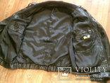 Куртка кожаная патрульная + свитер, фото №5