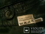Куртка кожаная патрульная + свитер, фото №6