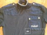 Куртка кожаная патрульная + свитер, фото №9
